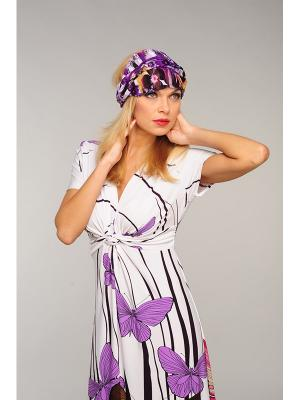 Повязка Lak Miss. Цвет: фиолетовый