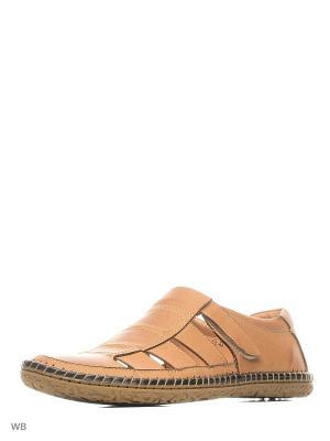 Туфли Companion. Цвет: бежевый