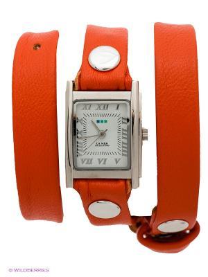 Часы La Mer Collections. Цвет: оранжевый