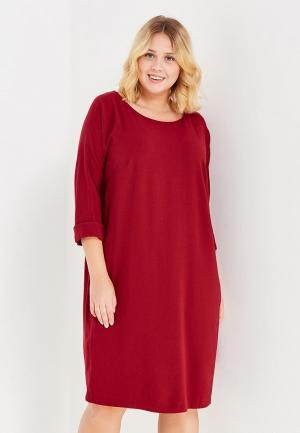 Платье Silver String. Цвет: бордовый
