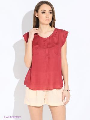Блузка MEXX. Цвет: бордовый