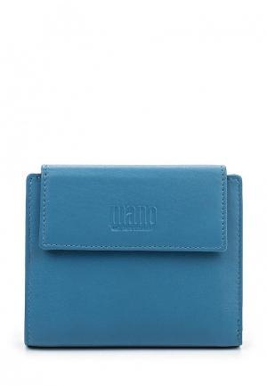 Кошелек Mano. Цвет: синий