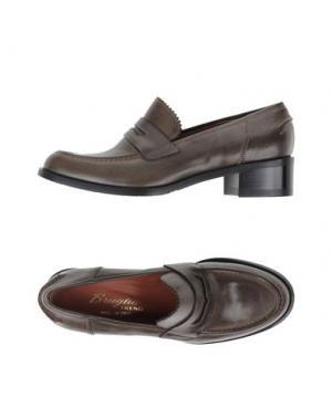 Обувь на шнурках F.LLI BRUGLIA. Цвет: зеленый-милитари