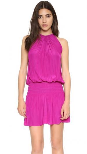 Платье без рукавов Paris Ramy Brook. Цвет: лимонная цедра