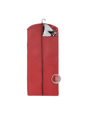 Чехол для верхней одежды Miolla. Цвет: бордовый