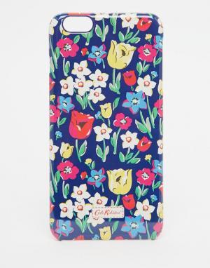 Cath Kidston Чехол для iPhone 6 Plus Paradise Fields. Цвет: синий