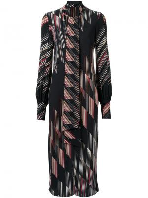 Printed midi dress Giuliana Romanno. Цвет: none