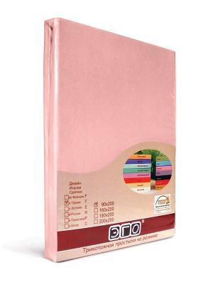 Простыня ЭГО. Цвет: розовый