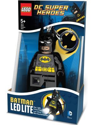 Брелок-фонарик для ключей LEGO Super Heroes - Batman. Цвет: черный, желтый