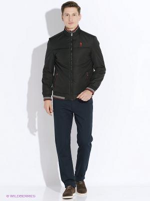Куртка U.S. Polo Assn.. Цвет: черный