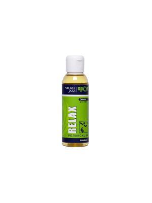 Масло жидкое для тела АРОМА СПОРТ  RELAX, 100 мл АРОМАДЖАЗ. Цвет: светло-зеленый