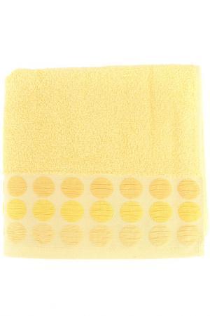 Полотенце махровое, 50х90 см BRIELLE. Цвет: желтый