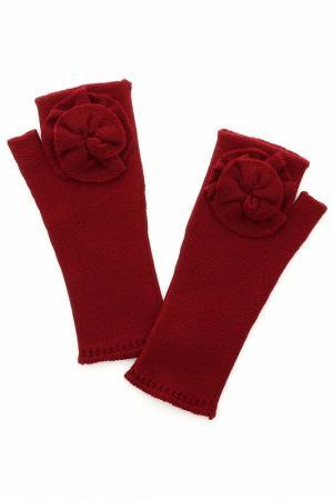 Перчатки Sonia Rykiel. Цвет: бордовый