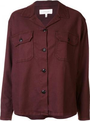 Buttoned jacket The Great. Цвет: розовый и фиолетовый