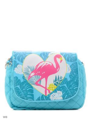Детская сумка Modis. Цвет: голубой, зеленый, бирюзовый