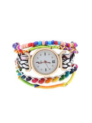 Браслет-часы Olere. Цвет: черный, белый, фиолетовый