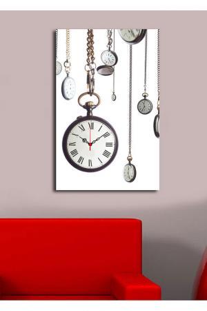 Декоративные настенные часы. Clock art. Цвет: мультицвет