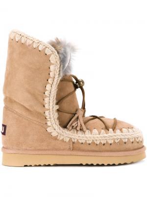 Ботинки Eskimo Dream Lace Up Mou. Цвет: коричневый