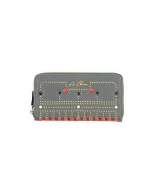 Бумажник LA CARRIE BAG. Цвет: зеленый-милитари