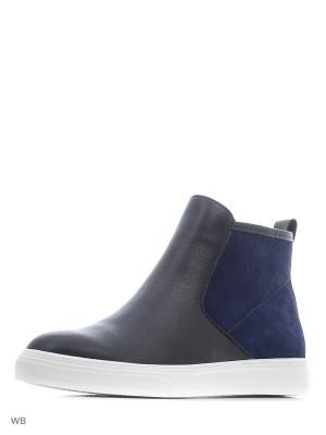 Ботинки San Marko. Цвет: черный, темно-синий