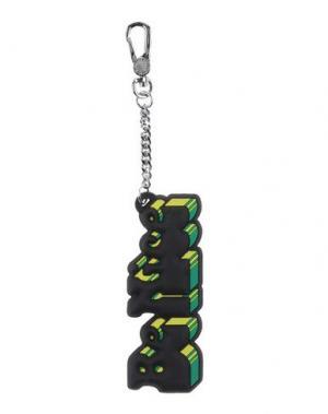 Брелок для ключей MARC BY JACOBS. Цвет: черный