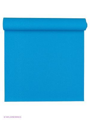 Коврик для йоги Сита разной длины 60х3мм (1,4 кг, 200 см, 3 мм, голубой, 60см) RamaYoga. Цвет: голубой