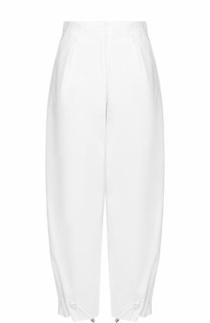 Укороченные брюки-бананы Kenzo. Цвет: белый