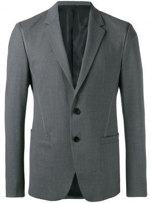 Классический пиджак Wooyoungmi. Цвет: серый