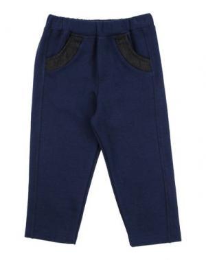 Повседневные брюки BACI & ABBRACCI. Цвет: темно-синий