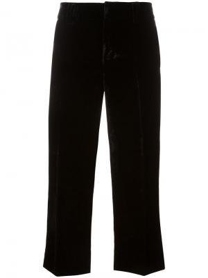 Укороченные брюки Mariacarla Dsquared2. Цвет: чёрный