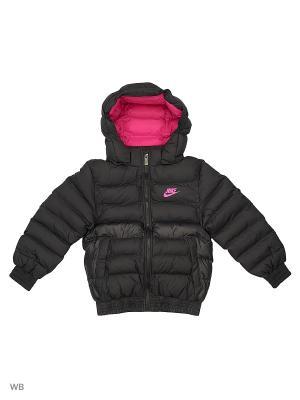 Куртка B NSW STADIUM JKT FA17 Nike. Цвет: черный, розовый