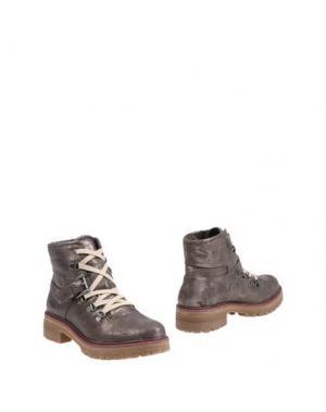 Полусапоги и высокие ботинки GIORGIA & JOHNS. Цвет: свинцово-серый