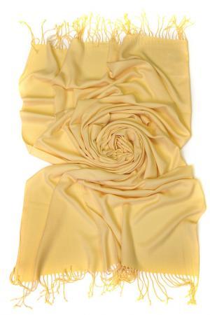 Палантин Frantelli. Цвет: желтый