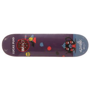 Дека для скейтборда  S6 Puig Impact Light Mr. Men 31.7 x 8.25 (21 см) Cliche. Цвет: мультиколор