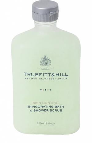 Тонизирующий скраб для тела Truefitt&Hill. Цвет: бесцветный