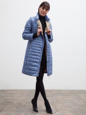 Пальто Clasna. Цвет: сиреневый