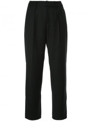 Классические брюки с высокой талией En Route. Цвет: чёрный