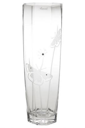 Ваза для цветов 40 см Deco-Glass. Цвет: мультицвет