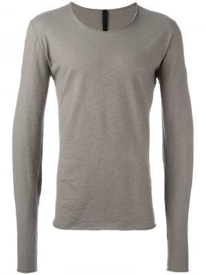 Расклешенная футболка Poème Bohémien. Цвет: коричневый