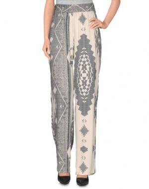 Повседневные брюки THELMA & LOUISE. Цвет: слоновая кость