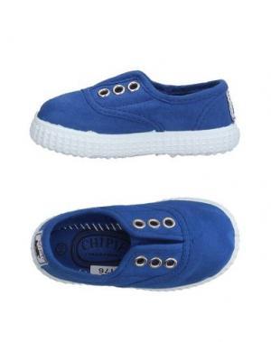 Низкие кеды и кроссовки CHIPIE. Цвет: синий