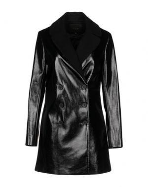 Легкое пальто MAJE. Цвет: черный