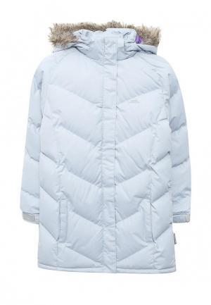 Куртка утепленная Trespass. Цвет: голубой