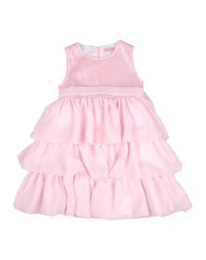 Платье MIRTILLO. Цвет: розовый