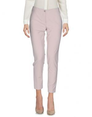 Повседневные брюки CARLA G.. Цвет: светло-розовый