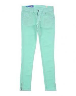 Джинсовые брюки HARMONT&BLAINE. Цвет: светло-зеленый