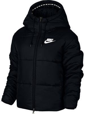 Куртка W NSW SYN FILL JKT HD Nike. Цвет: черный