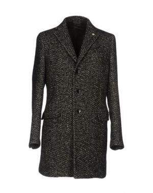 Пальто MANUEL RITZ. Цвет: стальной серый