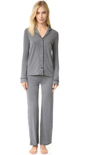 Пижама PJ Salvage. Цвет: коричневый