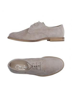 Обувь на шнурках OCA-LOCA. Цвет: светло-серый